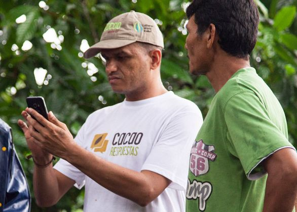 Smartphone for a Farmer Educator
